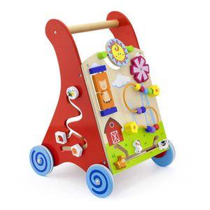 PORTEUR - POUSSEUR Chariot à pousser / Chariot de marche jeu éducatif