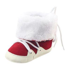 BOTTE Mignon Enfant En Bas Âge Bébé Filles En Peluche Doux Semelle Anti-dérapant Chaud Neige Chaussures De Neige@BrownHM TKWDNC8