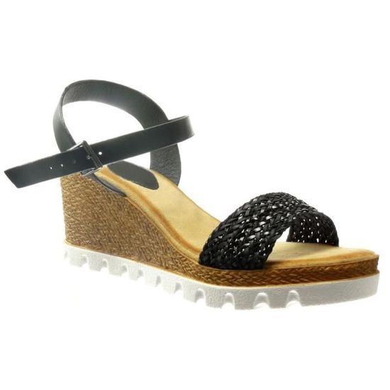 Ouverte Mode Taille Espadrillesplate Sandales De Chaussures Cm 40 Y67fbgyv
