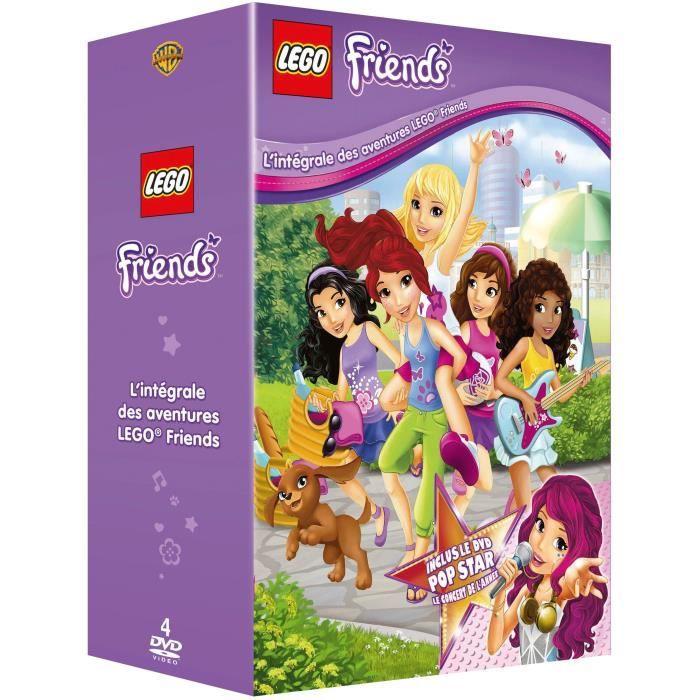Lego Coffret L'intégrale Friends Dvd Des Aventures TK1cFJl