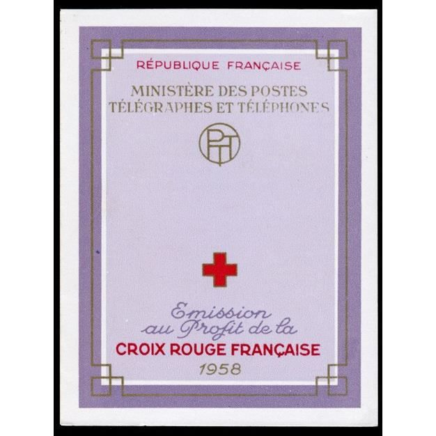 TIMBRE Timbre France Carnet Croix Rouge N°  2007  sans…