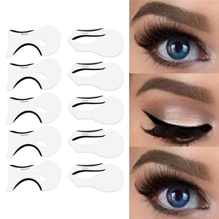 10 mod les eyeliner maquillage pour les yeux carte de. Black Bedroom Furniture Sets. Home Design Ideas