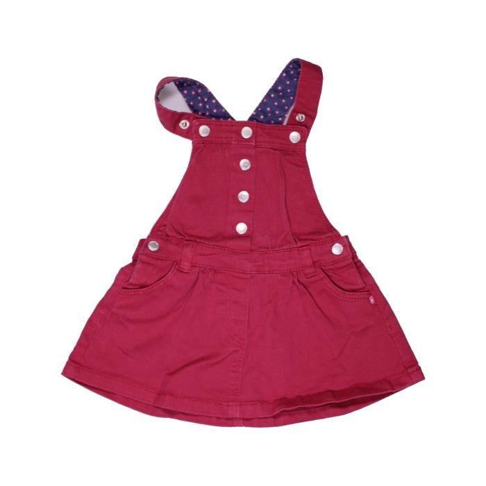 Robe bébé fille OKAIDI 6 mois rouge été - vêtement bébé  1071552 ... 6d94af38a49