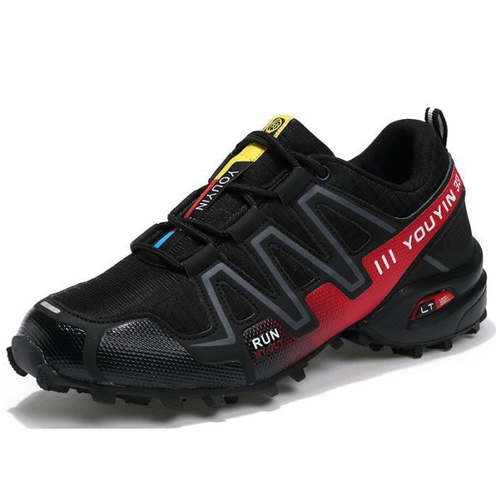 Baskethomme Chaussures de sport en plein air casual chaussures hommes nouveaux voyages chaussures de course chaussure sport chic vR6j9vLI2c