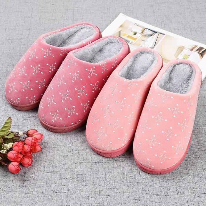 En Intérieur Pantoufles Chaussures Et Peluche Automne Maison Couleurs Dames 4 Chaud Nouvelles Laine L'hiver Doux Mode xqaw6tTH