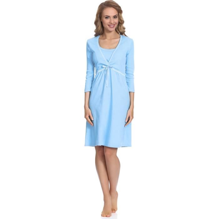 Womens Maternity Night Dress Dolores 01111 1CMGEW Taille-36
