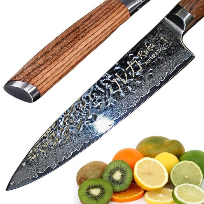 Couteaux De Cuisine Damas Achat Vente Pas Cher