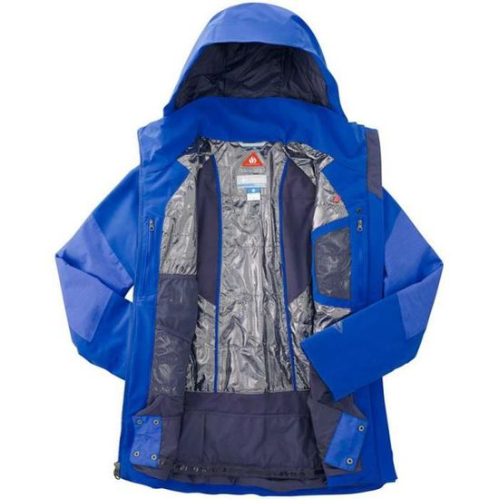 Macaw Macaw Jacket Columbia blue Blue Carvin Couleur Macaw Cqp86Uw
