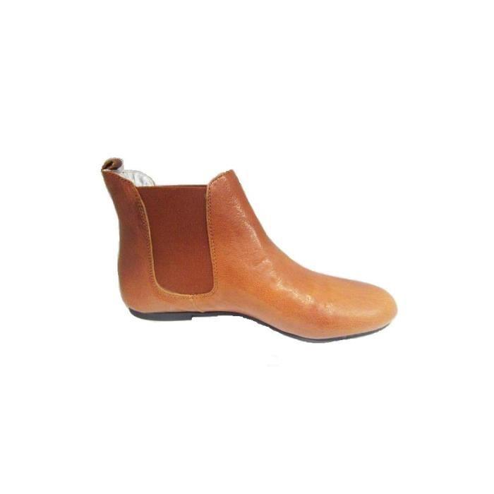 Ippon Vintage chaussures femme (cognac)PROMO