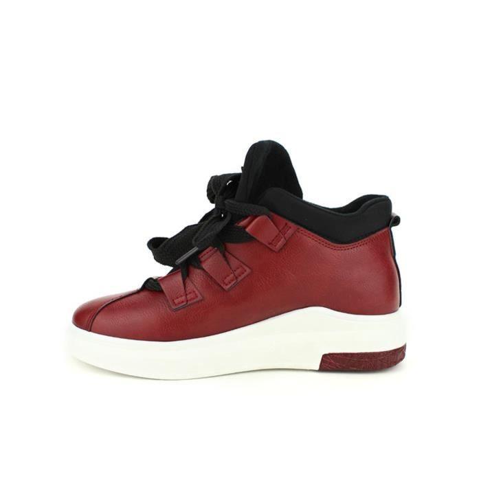 Baskets Femme Chaussures Bordeaux basket Cendriyon qOxWgvgnw