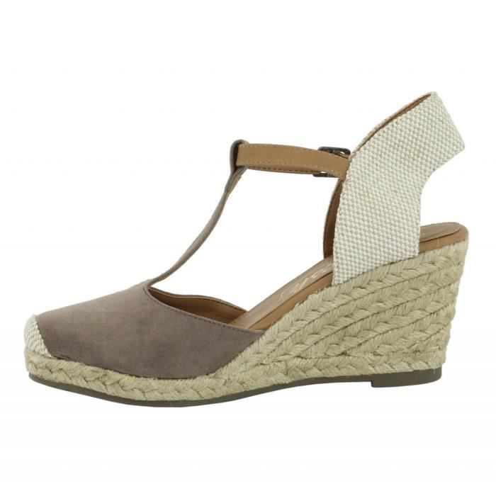 pour Femme REFRESH 62090 ANT TAUPE X9NCtzhvBy