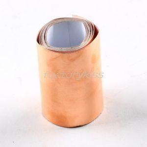 FEUILLE METALLIQUE 50mmx1m de blindage conductrice de cuivre feuille