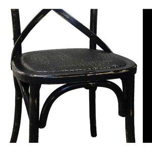 Chaise bistrot noir trendy meilleur galerie chaise noir - Chaise de cuisine style bistrot ...