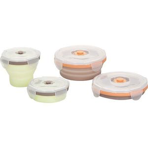 CONSERVATION REPAS BABYMOOV Lot Contenants Silicone 2x240ml + 2x400ml