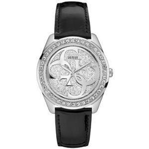 8dc926a0d7 Montre guess femme bracelet cuir noir - Achat / Vente pas cher