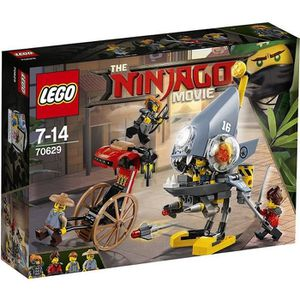 ASSEMBLAGE CONSTRUCTION LEGO® NINJAGO® 70629 L'attaque des Piranhas