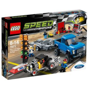 ASSEMBLAGE CONSTRUCTION LEGO® Speed Champions 75875 Ford F-150 Raptor et l