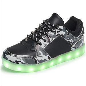 BASKET baskets Enfant Charge USB Enfants Lumières LED col