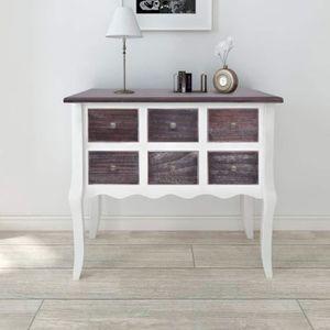 Meuble rangement 80 cm blanc achat vente pas cher Armoire de rangement chambre