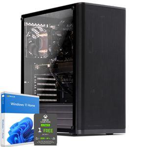 UNITÉ CENTRALE  PC Bureautique Pro, Intel Pentium, 240 Go SSD, 1 T