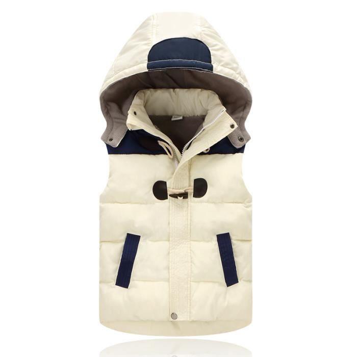 Garcon Gilet HAT - BOB CAP Court Stretch Souple Hiver Chaud Mode Historique  Loisirs Vintage Classique Charme 6372159f9a2