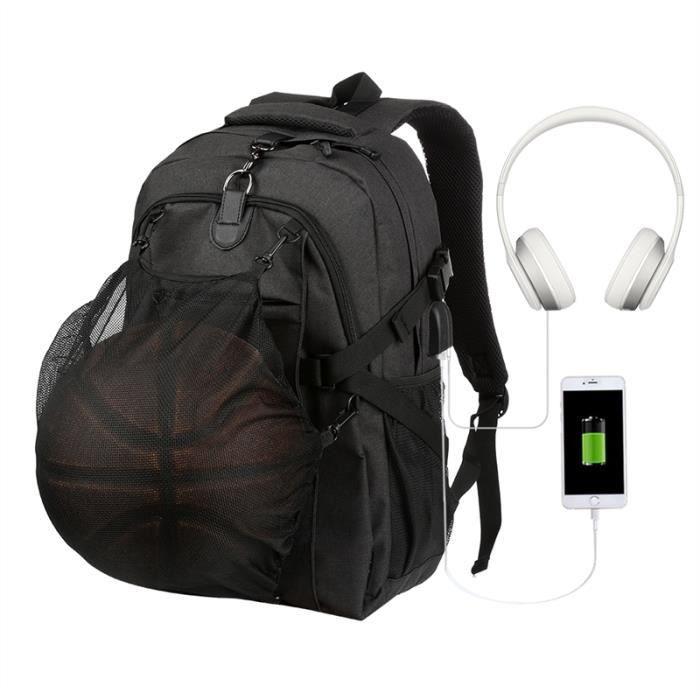 Vbiger hommes Trendy Épaules sac décole, Convient 15.6Laptop, Noir
