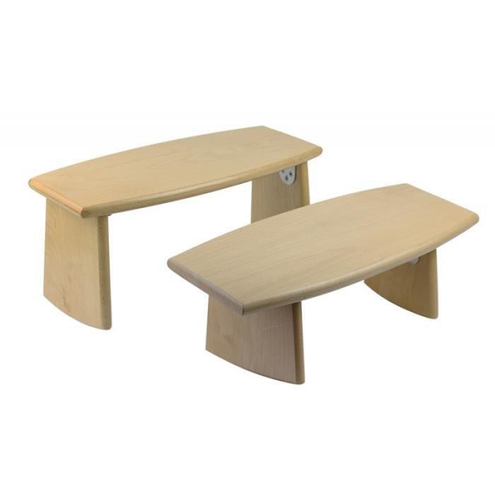 Petit banc pliable ljha tabouret pliable reposepieds en for Petit bureau pliable