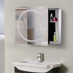 Armoire de toilette avec miroir achat vente armoire de for Armoire de toilette miroir lumineux