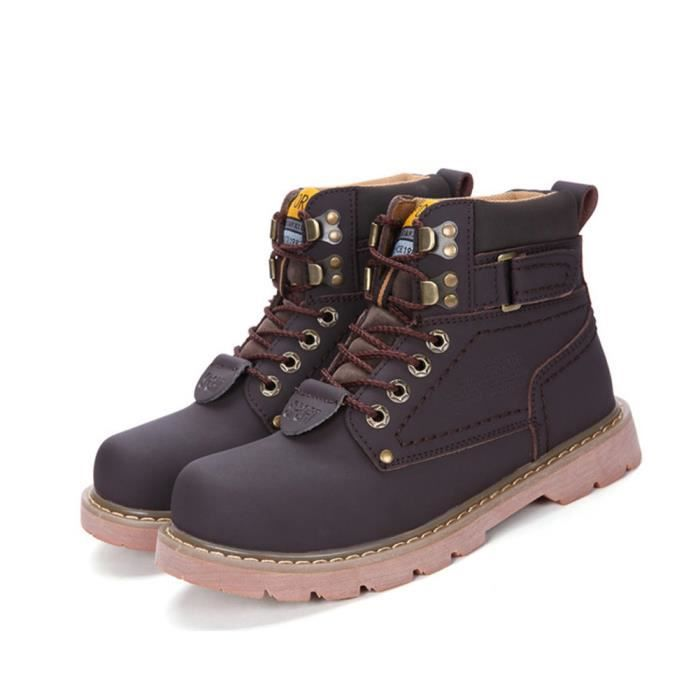 35-46 Hommes Antidérapant Martin Bottes OoROQsW1