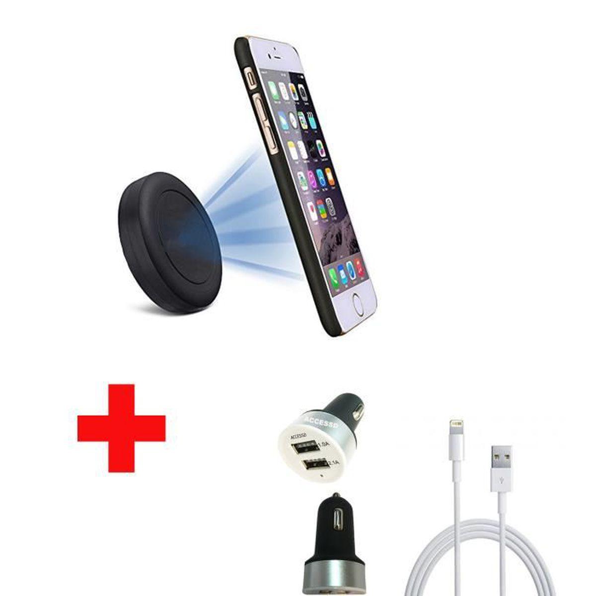 PACK ACCESSOIRES APPLE IPHONE 6S PLUS compatible AccessD , Achat accessoires  smartphone pas cher, avis et meilleur prix , Cdiscount