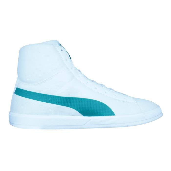 Puma Archive Lite Mid Mesh Baskets hommes - Chaussures Blanc 9.5