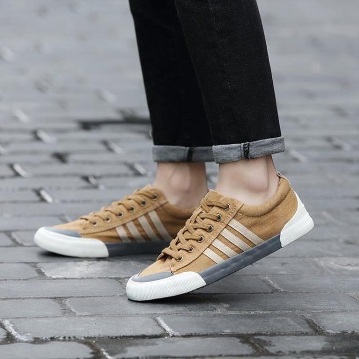 chaussures de sport en tissu pour femme homme Simple