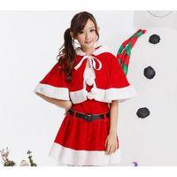 ROBE SEXY Vêtement de Noël, le père Noël cos costumes, femme