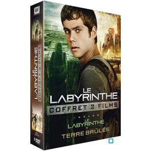 DVD FILM DVD Coffret Le Labyrinthe +  Le Labyrinthe : la te
