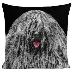 COUSSIN ARTPILO - Coussin BOB THE DOG Coton déperlant - No