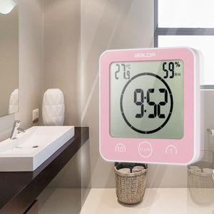 HORLOGE - PENDULE Horloge murale numérique multifonctionnelle avec a