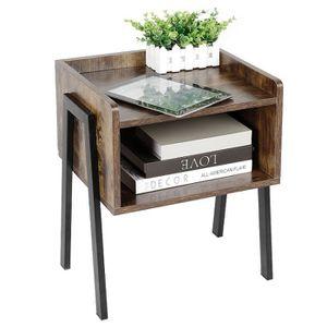TABLE D'APPOINT WISS Table de chevet Petit Tabled'Appoint Meuble d