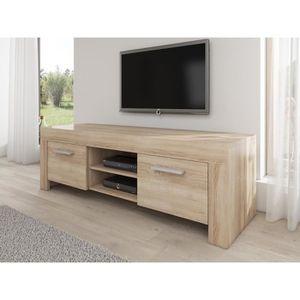 meuble tv rome meuble tv contemporain dcor chne clair