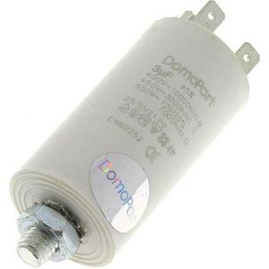 PIÈCE LAVAGE-SÉCHAGE  Condensateur 3µf 400v pour Lave-vaisselle Bosch, H