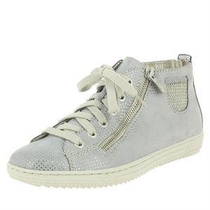 BASKET chaussures à lacets puntito femme rieker l9402