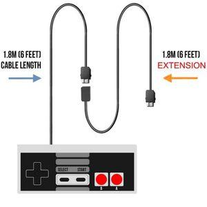 MANETTE JEUX VIDÉO Nintendo NES Classic Mini Manette + Cable Extensio
