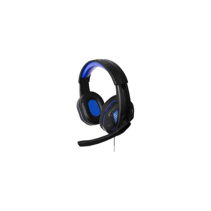 Casque gamer micro-filaire Steelplay HP41 Noir pour PS4