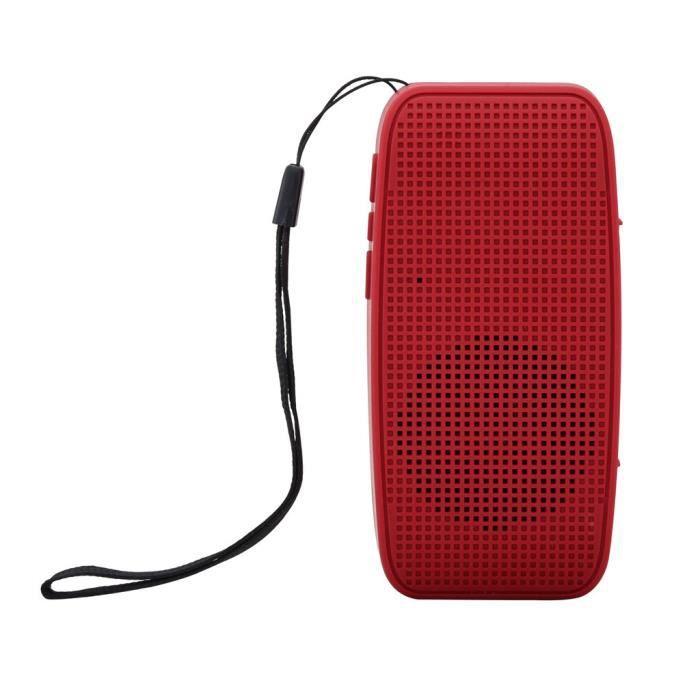 Portable Bluetooth Stéréo Sans Fil Audio Carte Sd Haut-parleur Dragonne Pour Samsung @5353