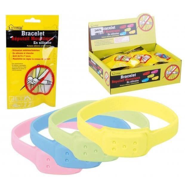 ANTI-MOUSTIQUE Bracelet anti moustique - Diametre 7cm - 3 a 4 sem