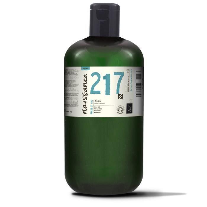 huile vegetale de ricin bio – 100 pure – 1l