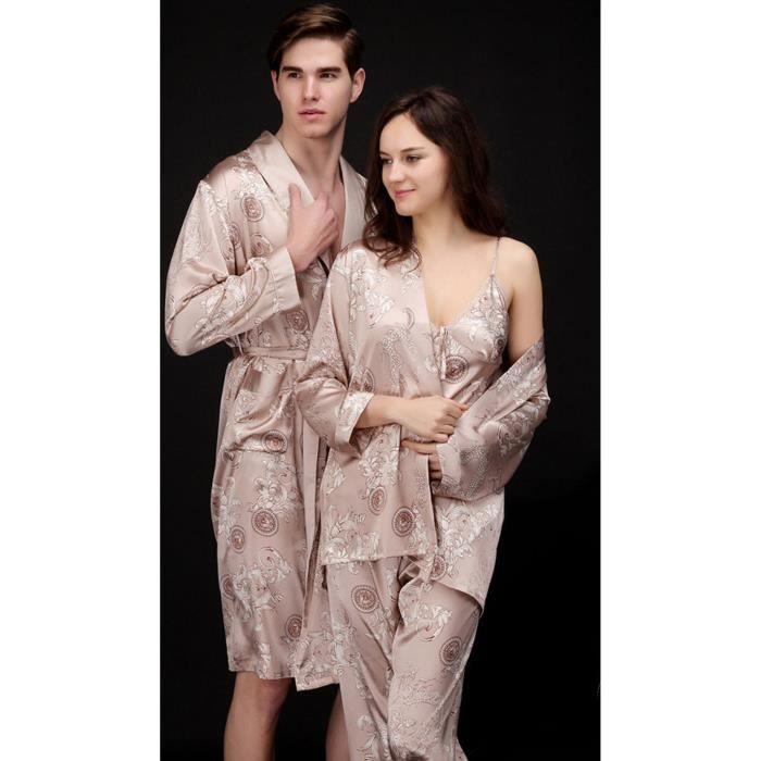 pyjama femme en soie ri48 montrealeast. Black Bedroom Furniture Sets. Home Design Ideas
