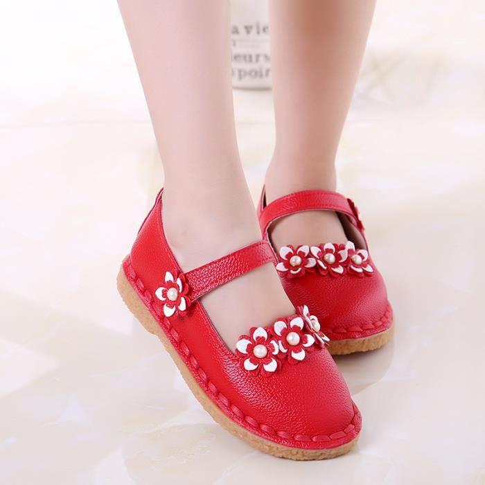 Enfants Chaussures baskets Bébé fille Rouge