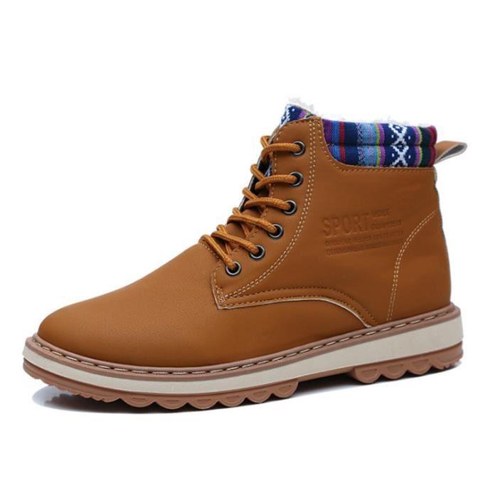 BOTTE SF souliers tout-aller homme Hiver Confortable Plu
