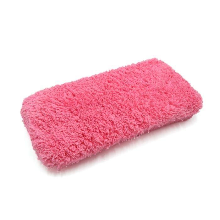 Forme rectangle Accueil microfibre éponge nettoyage outil lavage voiture Bloc