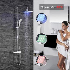 Colonne de douche avec mitigeur thermostatique achat vente colonne de dou - Colonne de douche avec led ...